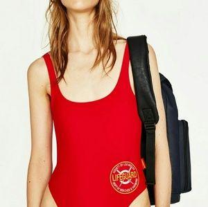 Zara Baywatch swimsuit